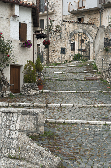 Take any footpath up in hilltop towns and you'll arrive at the piazza, the center of all local activity.