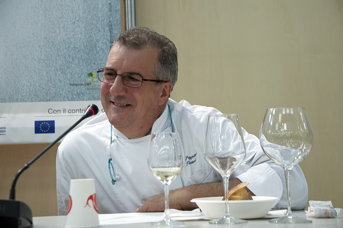 Chef Peppino Tinari from Villa Maiella
