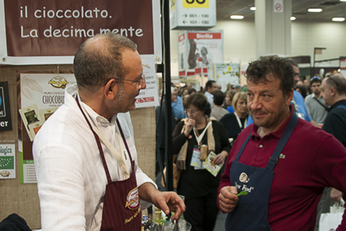 Chocolate? Really? At Salone del Gusto