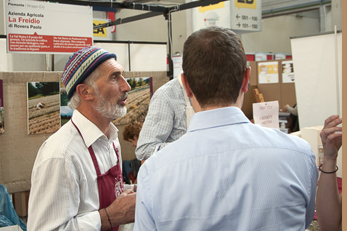 Directly from the Mountains at Salone del Gusto