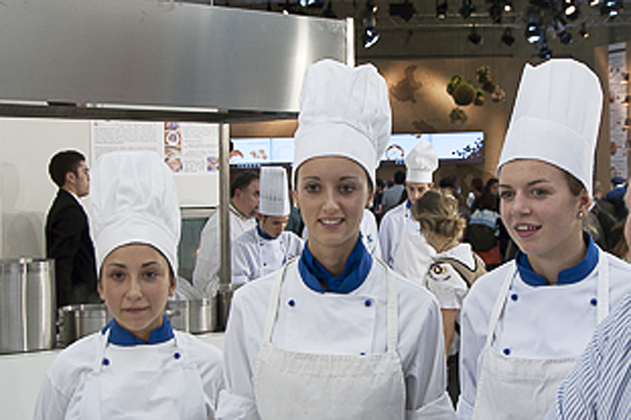 Future Chefs at Salone del Gusto