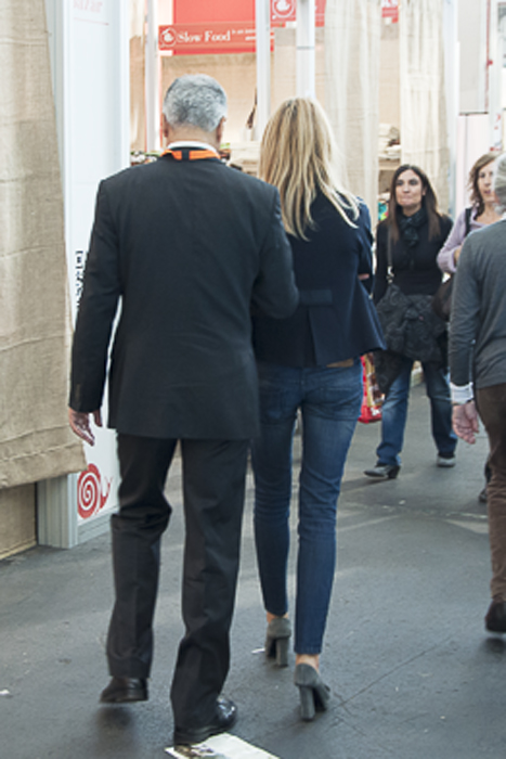 Stylish Couple at Salone del Gusto