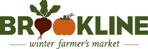 Brookline Winter Farmer's Market Logo