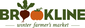 Brookline Winter Farmer's Market Logo