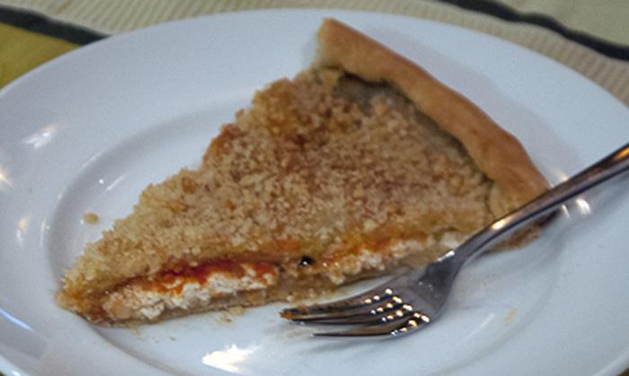 Tomato ricotta and caciocavallo sfincione by the slice