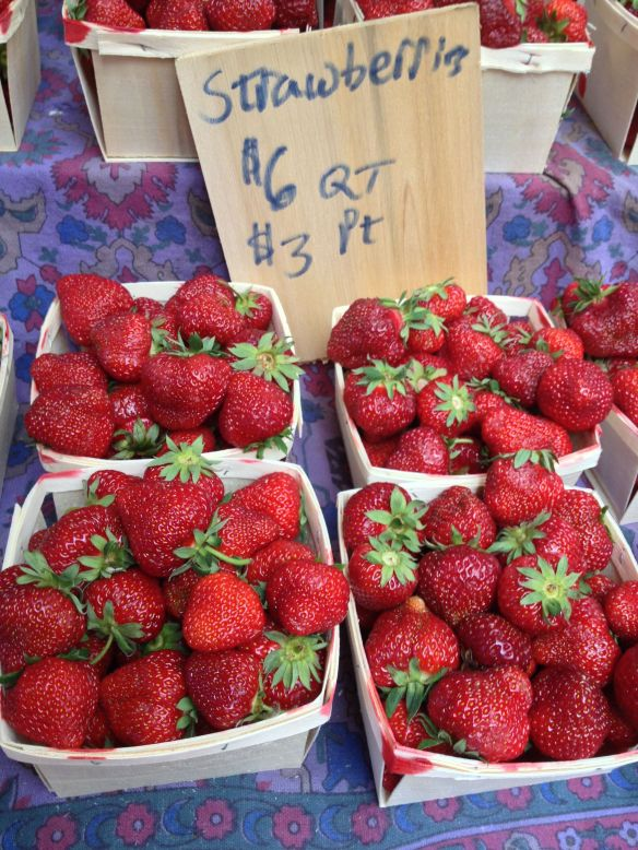 It's Strawberry time in New England!