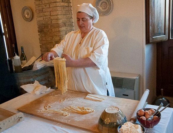 pasta maker with calendar