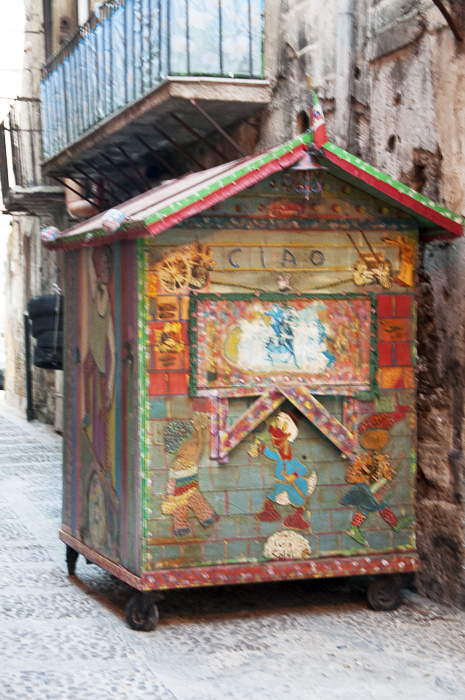 sicilian puppet shows